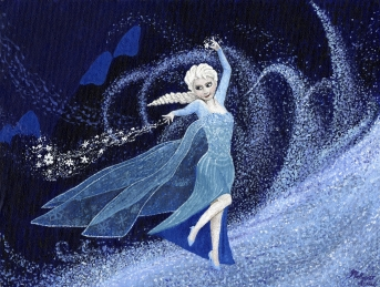 Ice Queen. My depiction